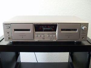 Sony-TC-WE475-Doppel-Kassettendeck-in-silber-Pitch-Control-12-Monate-Garantie