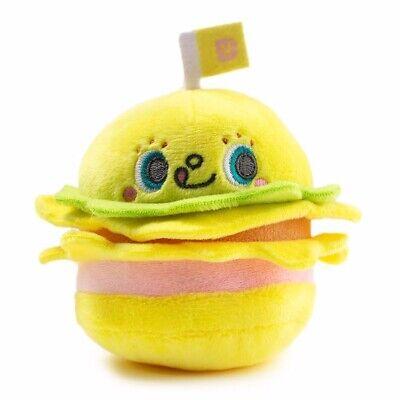 1 Figure Kidrobot Sanrio Hello Kitty Burger Blind Box Charm Mini Plush Figure