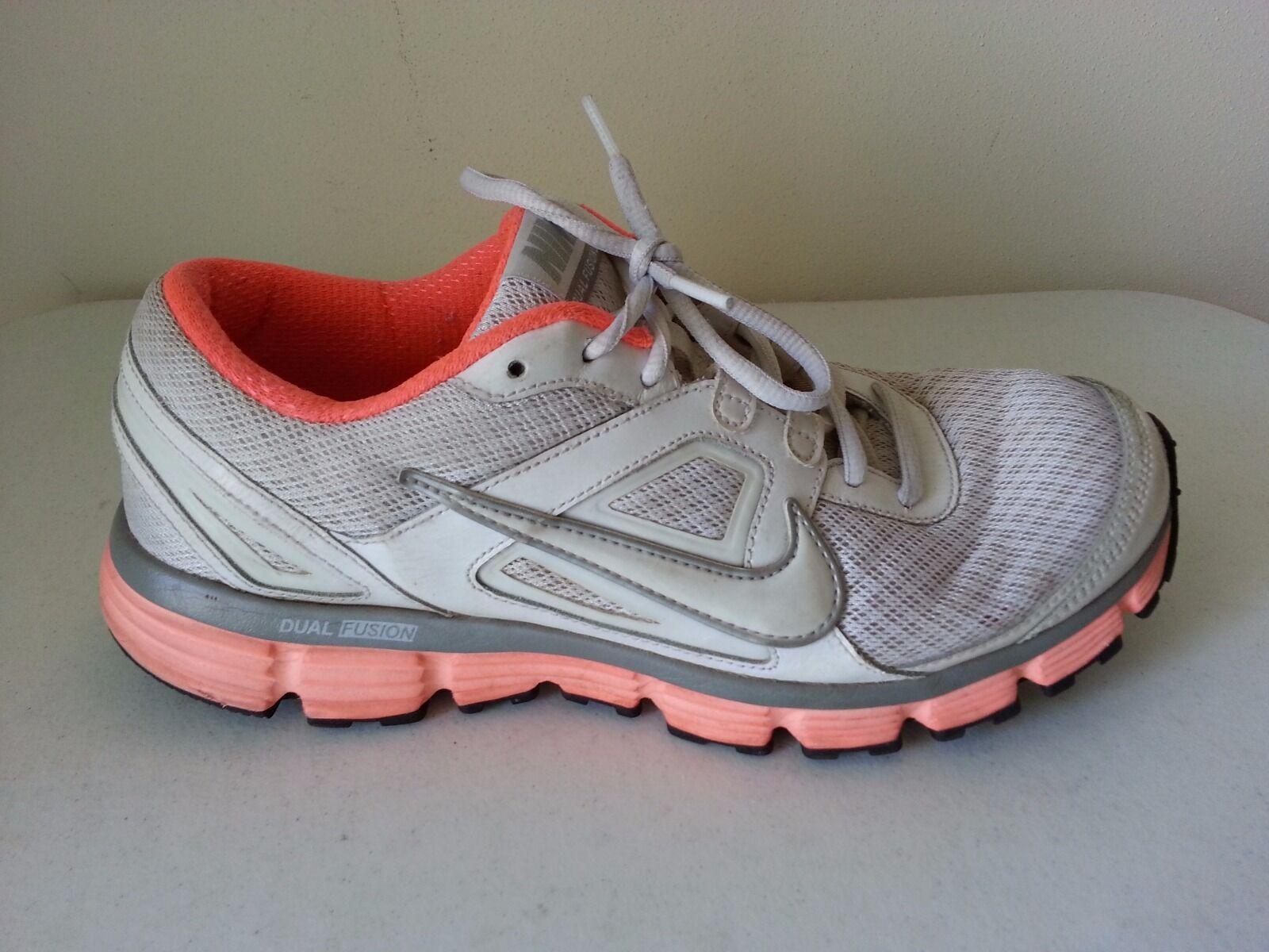 Nike doppia fushion fushion fushion san bianco e peach lace up - donne 10 '42   Le vendite online    Gentiluomo/Signora Scarpa  ce8432