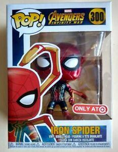 Avengers Infinity War Iron Spider with Legs Exclusive Pop Vinyl Figure 300