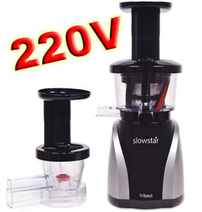 Tribest-SlowStar-220V-240V-Low-Speed-Vertical-Juicer-amp-Mincer-Slow-Star-SW-2020