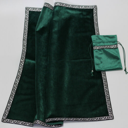 Altar Tarot Table Cloth//Bag Decor Divination CARDS Wicca Square Tablecloth Pouch