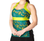 NWT Moxie Sweetheart Feather Green Black Cycling Jersey Tank Sz S or XL