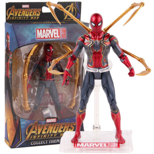 Avengers Infinity War Iron Spider-Man PVC Action Figure Collectible Model Toy