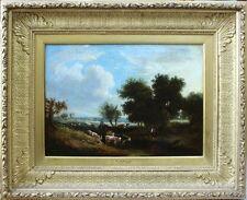 George Vincent (1796-1832) Norwich School Landscape Cattle, River, Ex Christies