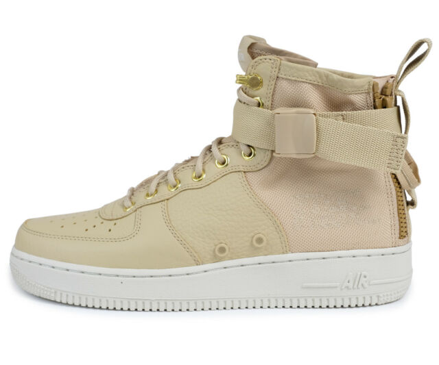 Nike SF Air Force 1 Mid SCHUHE Sneaker Herren 917753 200 beige EUR 40