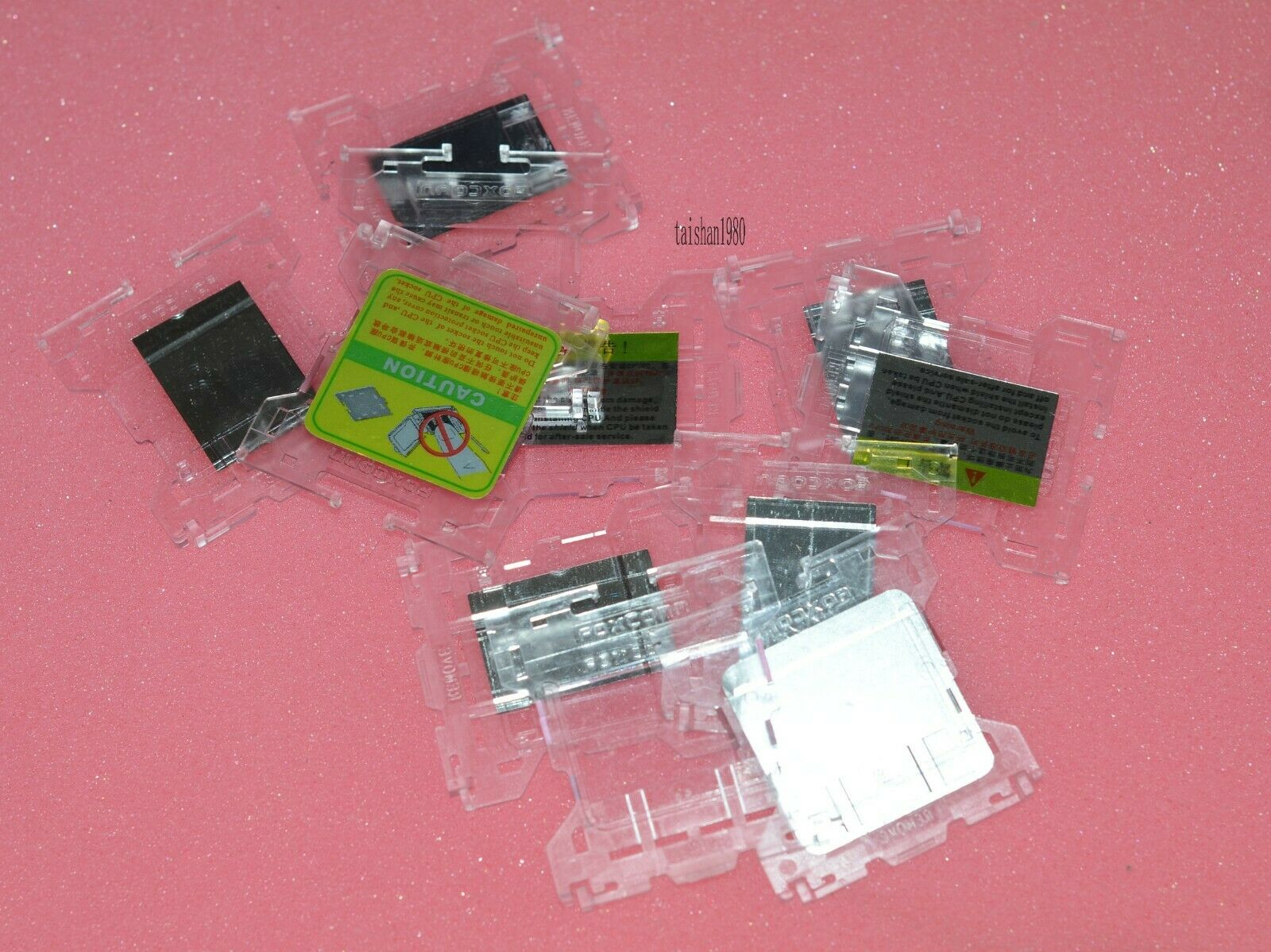 100x Motherboard socket CPU Protector Cover Fit for 775 FOXCONN Motherboard