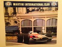 Monaco Grand Prix,jackie Stewart 1970 Martini Int Clubextremely Rare Car Poster