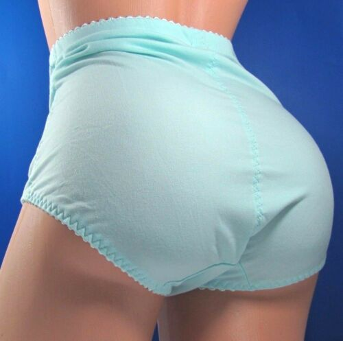 B3 Embroidered high cut waist embroidered cotton girdle sissy panties  XL XXL