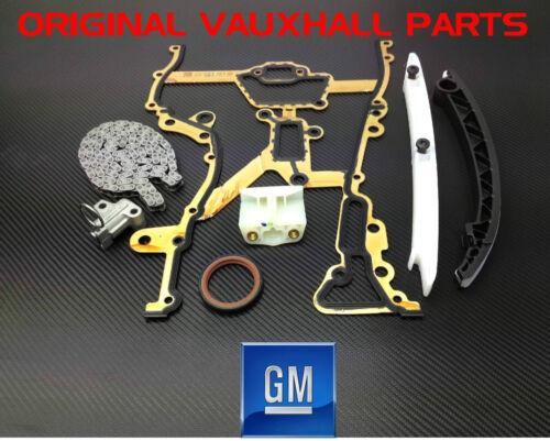 VAUXHALL CORSA AGILA ASTRA MERIVA TIMING CHAIN KIT 1.0 1.2 1.4 GM PARTS ORIGINAL