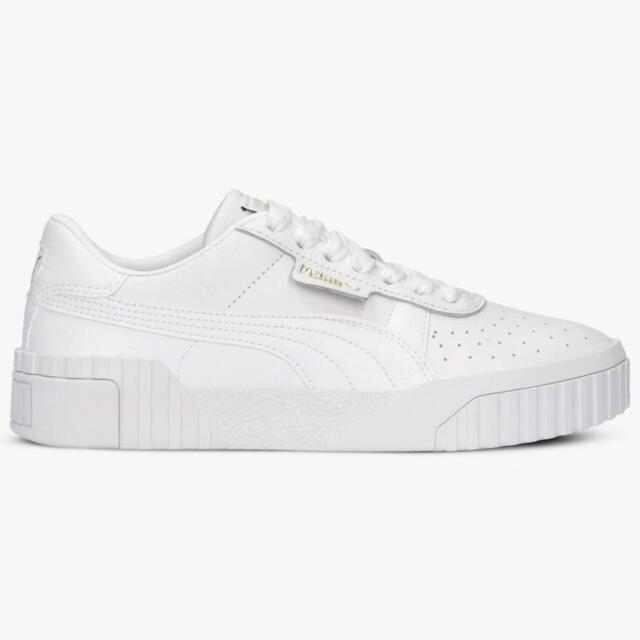 Womens Puma Cali Trainers White 369155 01 | eBay