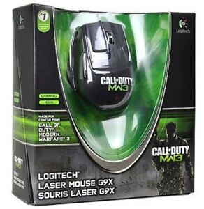 Logitech-G9X-COD-MW3-Call-of-Duty-USB-Laser-Gaming-Mouse-FACTORY-SEALED