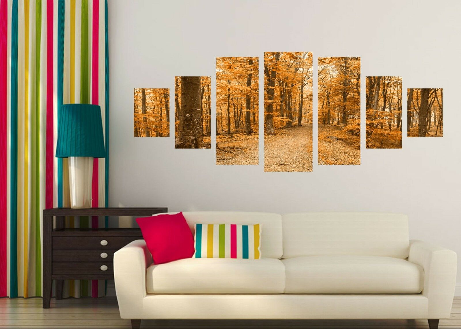 3D Autumn Scene 566 Unframed Print Wall Paper Decal Wall Deco Indoor AJ Wall