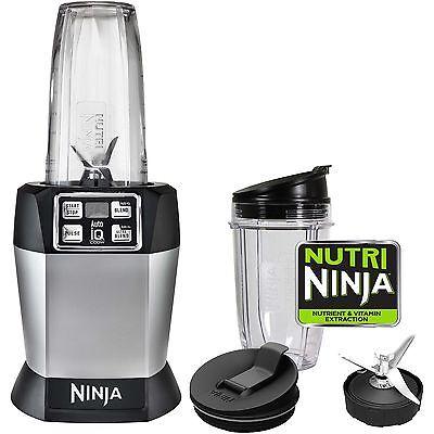 Ninja Auto-iQ NutriNinja 1000W Plantinum Blender | BL480 (Certified Refurbished)