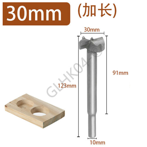 Tungsten Steel Hole Saw Auger Opener Cutter Woodworking Forstner Drill Bits
