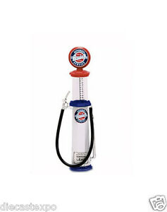 "Brand new! Gas Pump Series: ""Buick"" Cylinder Style Pump 1/18 Scale"