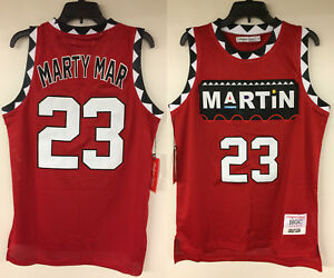 separation shoes d7012 68df3 Details about Martin Payne 90 TV Show Marty Mar 23 Martin Lawrence  Authentic Basketball Jersey