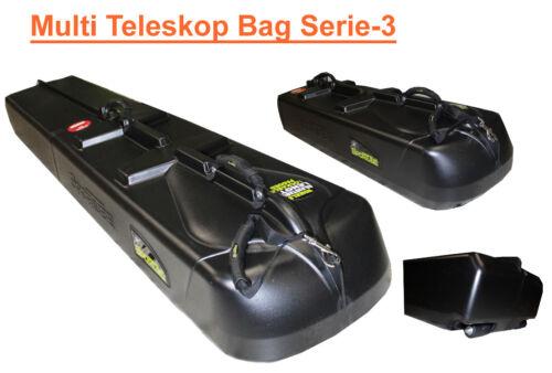 Multi télescopique Cannes Valise canne à pêche rigide valise trolley sac de pêche Poissons