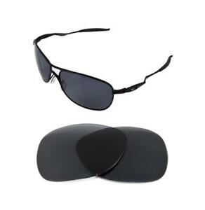 cc1579209b Image is loading NEW-POLARIZED-BLACK-REPLACEMENT-LENS-FOR-OAKLEY-CROSSHAIR-