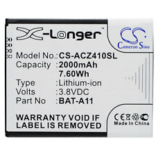 Batteria ACZ410 X-Longer per Acer Liquid Z410 Liquid M330 LTE 2000mAh BAT-A11