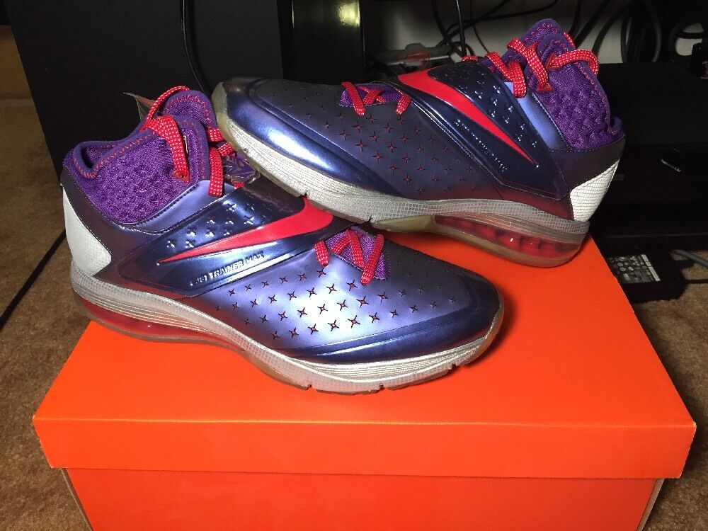 7babbf9c52af New Nike CJ81 Trainer Max Megatron Court Purple University Red Red ...
