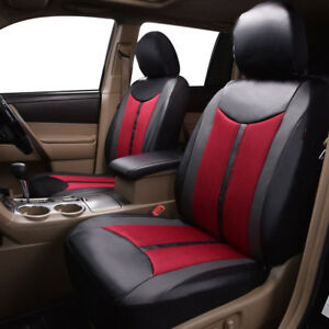 new-arrival-Delux-faux-leather-car-seat-covers-2-fronts-set-high-quality-strong