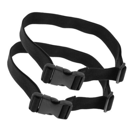 2Pieces 110cm Web Work Belt Chalk Bag Heavy Duty Waist Belt Strap Adjustable
