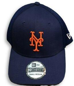 NWT-New-York-Mets-New-Era-39Thirty-Meshback-Logo-Flex-Fit-Size-S-M-Hat