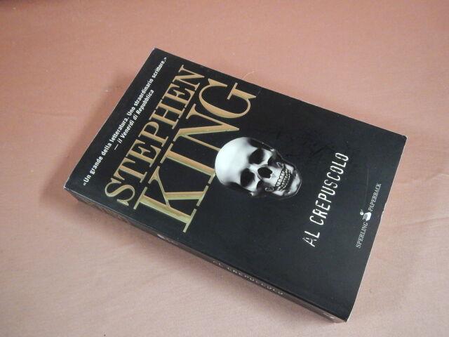 King Stephen AL CREPUSCOLO 1a Paperback