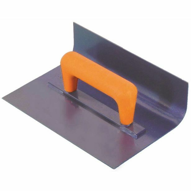 Masterfinish CARBON STEEL COVING TROWEL 150x200mm With 25mm Radius Aust Brand