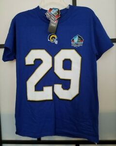f5d3490e9 Men s NFL Los Angeles Rams Eric Dickerson  29 Royal Blue Hall of ...