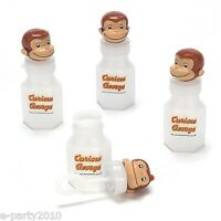 Curious George Bubbles & Wands (4) Birthday Party Supplies Favors Toys Summer