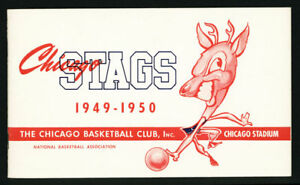1949-50-Chicago-Stags-NBA-Media-Guide-High-Grade