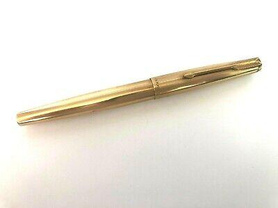 1 BARREL ONLY VISTA BLUE GORGEOUS PARKER 61 MADE IN ENGLAND GOLD TRIM