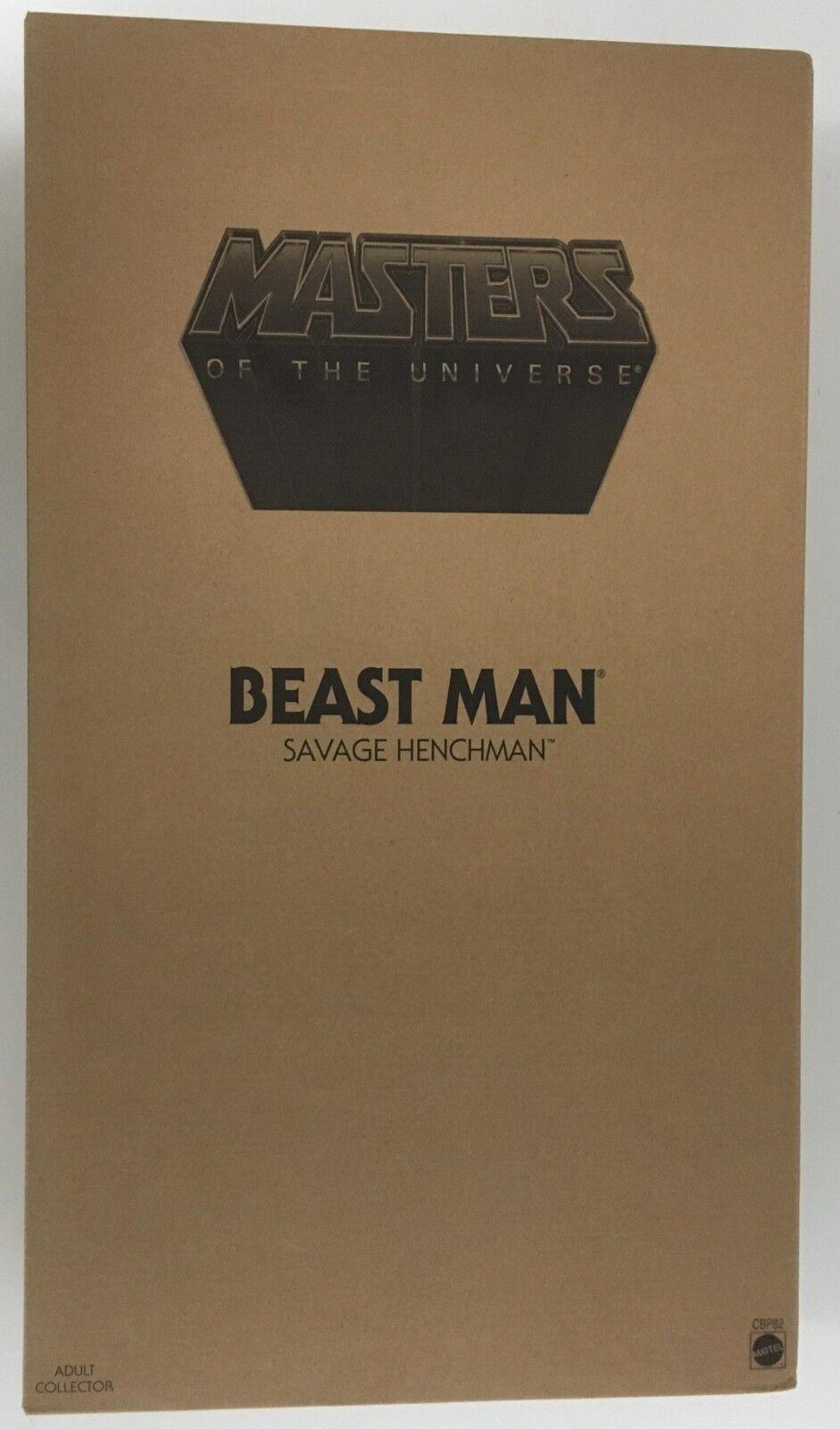 2014 Mattel Masters Of The Universe Beast Man 12  Figura De Acción  Sellado De Fábrica