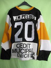 Maillot Hockey Nice Club Jersey Vintage Porté Jeune #20 Cooper Enfant - L