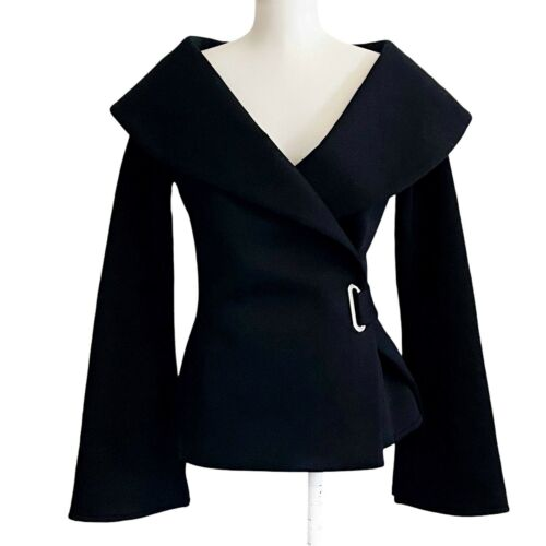 Beaufille Women's Clothing Size 2 Black Large Col… - image 1