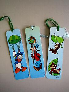 3-X-Stueck-wunderschoene-Disney-Lesezeichen-Buchzeichen