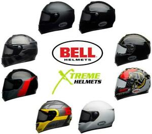 Bell SRT Helmet Full Face Eyewear Friendly Fiberglass DOT SNELL M2015 XS-2XL