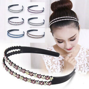 Women-Girls-Crown-Crystal-Headband-Headwear-Ornament-Rhinestone-Hair-Band