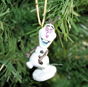 Details About Custom Disney Frozen Olaf Candy Cane Nose Christmas Holiday Ornament Adventure
