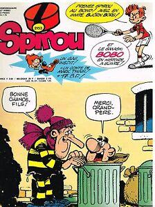 A7- Spirou N°2153 Bobo Produits Vente Chaude