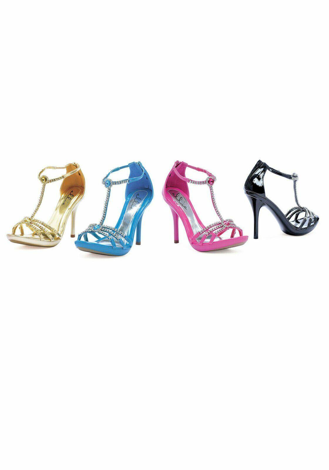 Ellie shoes 431-DARLING Darling 4'' Heel Rhinestone Sandal