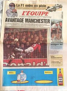 Inquiet L'equipe Journal 4/3/1999; Manchester-inter Milan/ Leblanc Raccroche/ Magne Une Gamme ComplèTe De SpéCifications