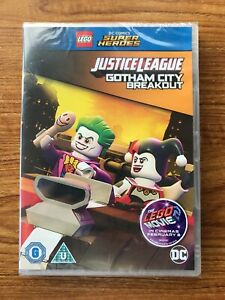 LEGO-DC-Justice-League-Gotham-City-Breakout-DVD-2016-Brand-New-Sealed