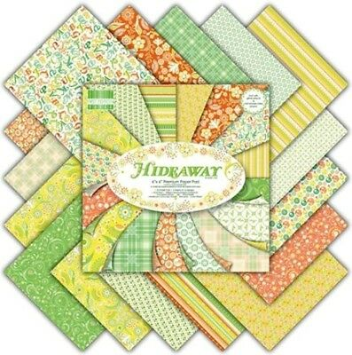 """First Edition Hideaway Sample Paper Pack (16 sheets x 6x6"""" size)"""