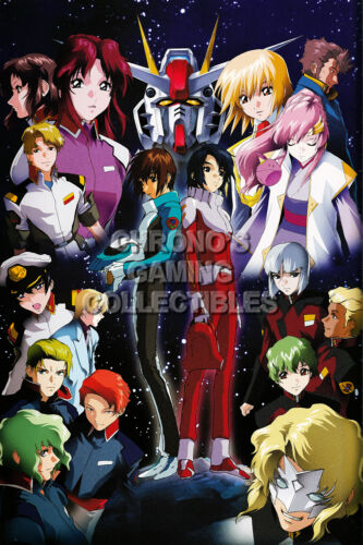GUNS02 Mobile Suit Gundam Seed Anime Poster Glossy Finish RGC Huge Poster