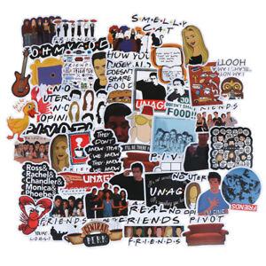 50Pcs-Friends-stickers-DIY-scrapbooking-album-luggage-laptop-phone-d-TDO