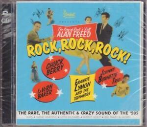CD-amp-DVD-Connie-Francis-Chuck-Berry-Little-Richard-a-o-Rock-Rock-Rock