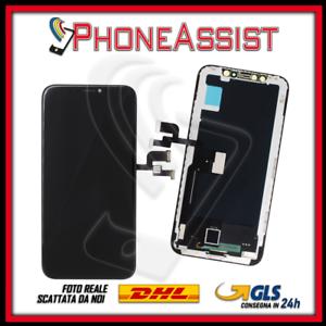 TOUCH SCHERMO LCD DISPLAY VETRO   PER APPLE IPHONE X PARI ALL'ORIGINALE